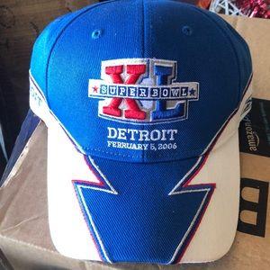 Vintage NFL Detroit Super Bowl hat